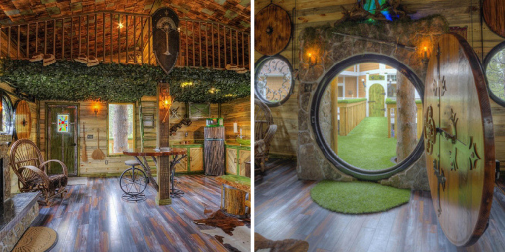 "Отель ""Hobbit treehouse"", штат Мичиган фото"